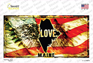 Maine Love Wholesale Novelty Sticker Decal