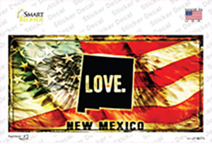 New Mexico Love Wholesale Novelty Sticker Decal