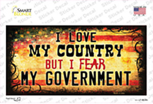 I Love My Country Wholesale Novelty Sticker Decal