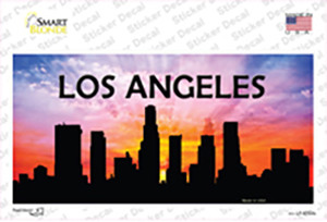 Los Angeles Silhouette Wholesale Novelty Sticker Decal