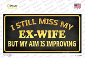 Ex Wife Wholesale Novelty Sticker Decal