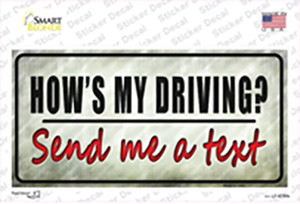 Send Me A Text Wholesale Novelty Sticker Decal