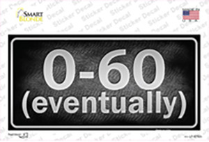 0 To 60 Wholesale Novelty Sticker Decal