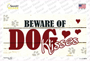Beware of Dogs Wholesale Novelty Sticker Decal