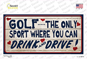 Drink And Drive Wholesale Novelty Sticker Decal