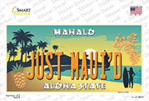 Just Mauid Vine Wholesale Novelty Sticker Decal