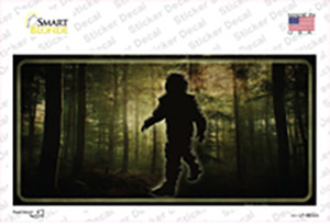 Bigfoot In The Woods Wholesale Novelty Sticker Decal