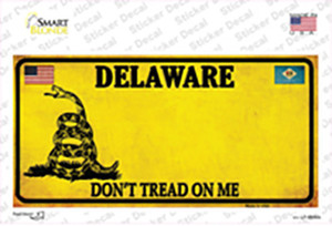 Delaware Dont Tread On Me Wholesale Novelty Sticker Decal