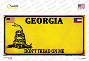 Georgia Dont Tread On Me Wholesale Novelty Sticker Decal