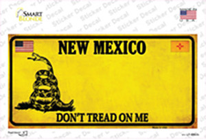 New Mexico Dont Tread On Me Wholesale Novelty Sticker Decal