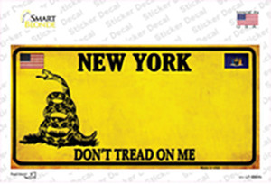 New York Dont Tread On Me Wholesale Novelty Sticker Decal