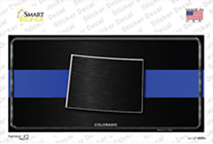 Colorado Thin Blue Line Wholesale Novelty Sticker Decal