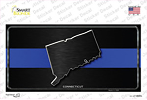 Connecticut Thin Blue Line Wholesale Novelty Sticker Decal