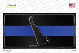 Delaware Thin Blue Line Wholesale Novelty Sticker Decal