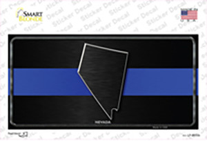 Nevada Thin Blue Line Wholesale Novelty Sticker Decal