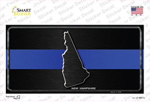 New Hampshire Thin Blue Line Wholesale Novelty Sticker Decal