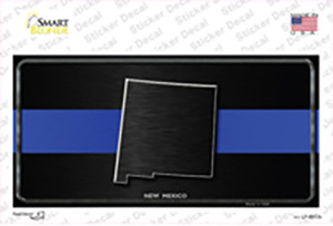 New Mexico Thin Blue Line Wholesale Novelty Sticker Decal