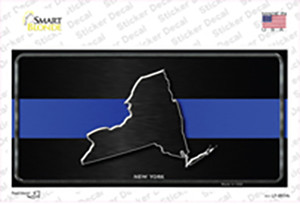 New York Thin Blue Line Wholesale Novelty Sticker Decal