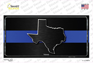 Texas Thin Blue Line Wholesale Novelty Sticker Decal