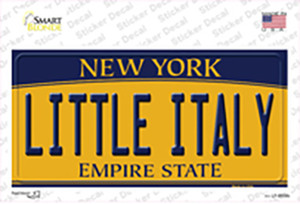 Little Italy New York Wholesale Novelty Sticker Decal