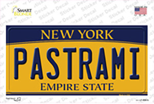 Pastrami New York Wholesale Novelty Sticker Decal