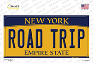 Road Trip New York Wholesale Novelty Sticker Decal