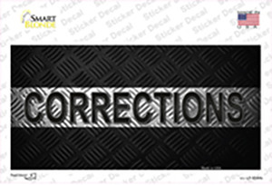 Corrections Wholesale Novelty Sticker Decal