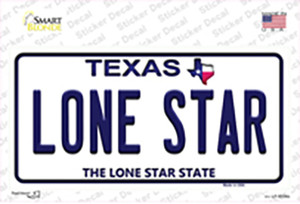 Lone Star Texas Wholesale Novelty Sticker Decal