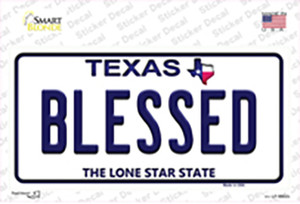 Blessed Texas Wholesale Novelty Sticker Decal