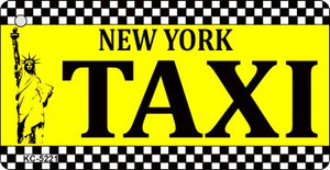 New York Taxi Wholesale Novelty Key Chain