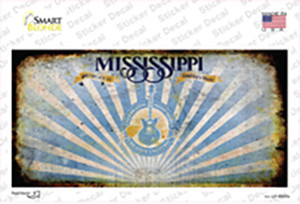 Mississippi Rusty Wholesale Novelty Sticker Decal