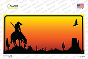 End Trail Blank Scenic Wholesale Novelty Sticker Decal