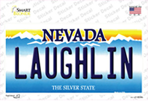 Laughlin Nevada Wholesale Novelty Sticker Decal