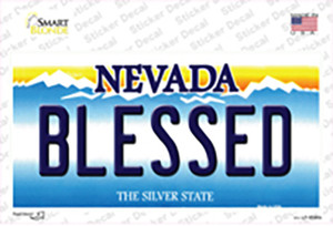 Blessed Nevada Wholesale Novelty Sticker Decal