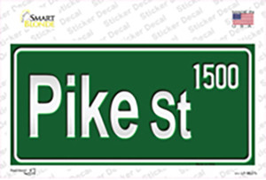 Pike St 1500 Wholesale Novelty Sticker Decal