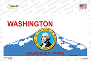 Washington With Seal Wholesale Novelty Sticker Decal