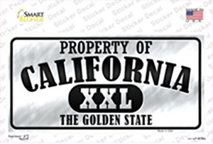 Property Of California Wholesale Novelty Sticker Decal