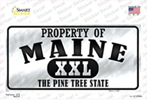 Property Of Maine Wholesale Novelty Sticker Decal