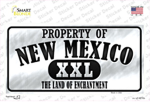 Property Of New Mexico Wholesale Novelty Sticker Decal