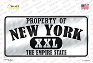 Property Of New York Wholesale Novelty Sticker Decal