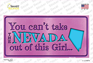 Nevada Outta This Girl Wholesale Novelty Sticker Decal