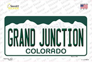 Grand Junction Colorado Wholesale Novelty Sticker Decal