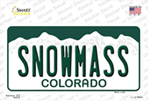 Snowmass Colorado Wholesale Novelty Sticker Decal