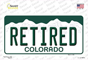 Retired Colorado Wholesale Novelty Sticker Decal