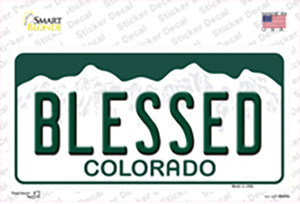 Blessed Colorado Wholesale Novelty Sticker Decal