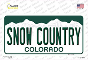 Snow Country Colorado Wholesale Novelty Sticker Decal