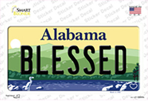 Blessed Alabama Wholesale Novelty Sticker Decal