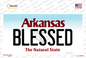 Blessed Arkansas Wholesale Novelty Sticker Decal