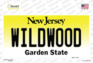 Wildwood New Jersey Wholesale Novelty Sticker Decal