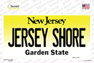 Jersey Shore New Jersey Wholesale Novelty Sticker Decal